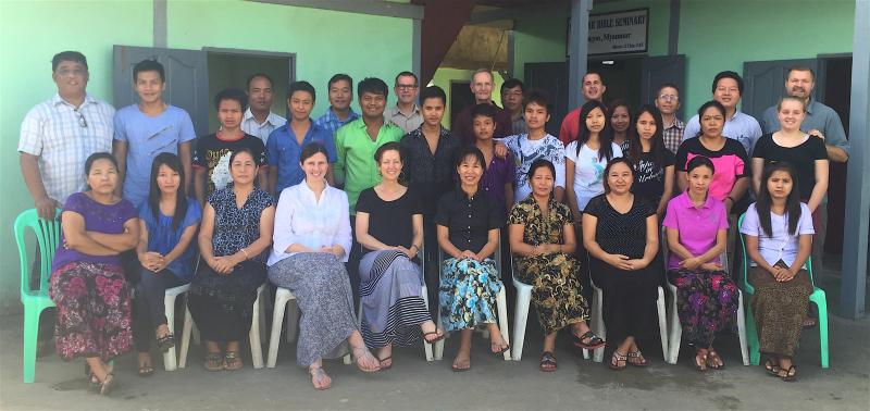 Team myanmar 2015